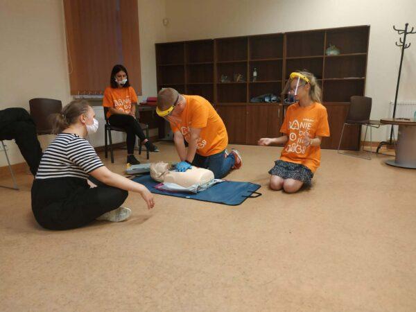 Stowarzyszenie Gramy Razem  -Szkolenie z pierwszej pomocy